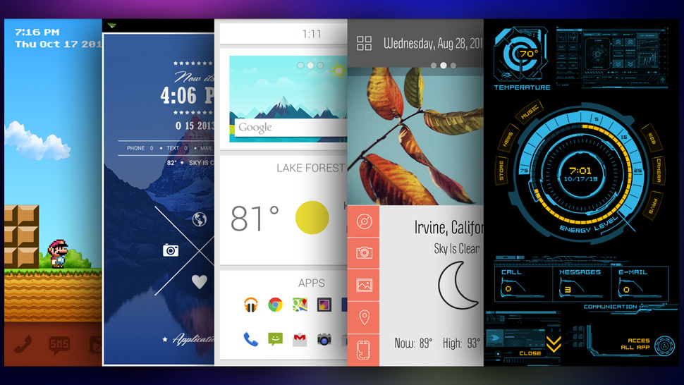 Lift Off: Android Launchers Review | dot mobility