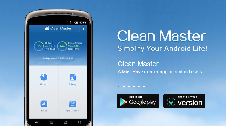 Image result for clean master android